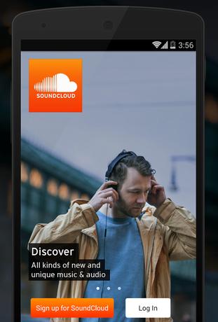 best podcast apps - soundcloud