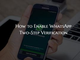 How to Enable WhatsApp Two Step Verification on iPhone and Android