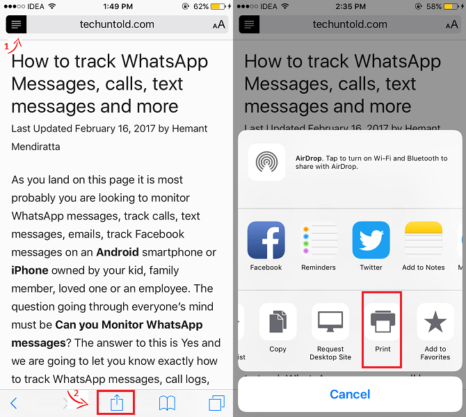 How To Easily Create PDF On iPhone & iPad For Free Without