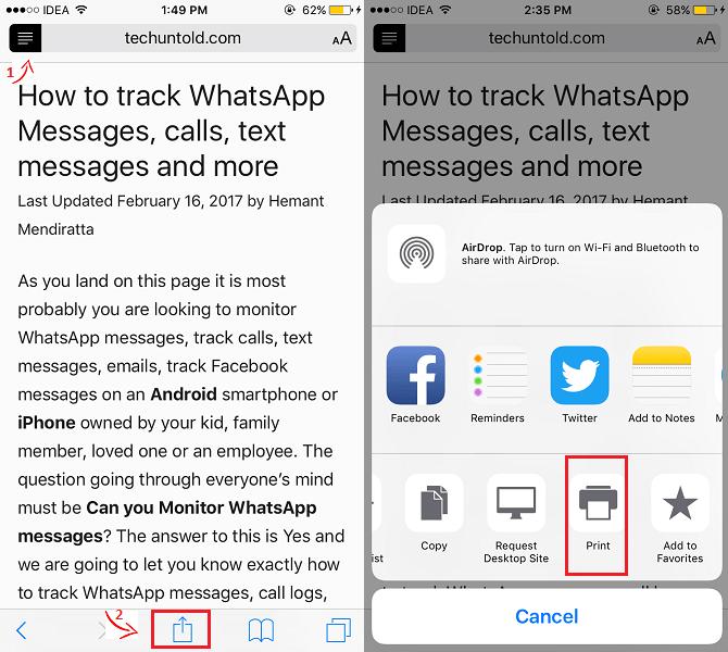 Create PDF on iPhone/iPad for free