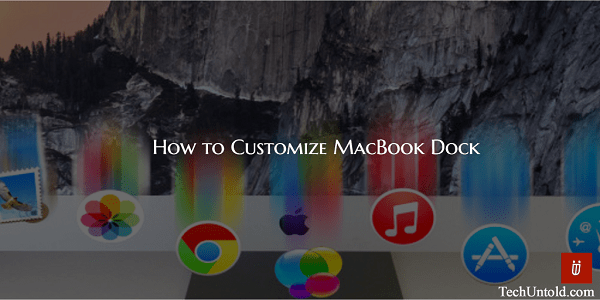 Customize Mac Dock