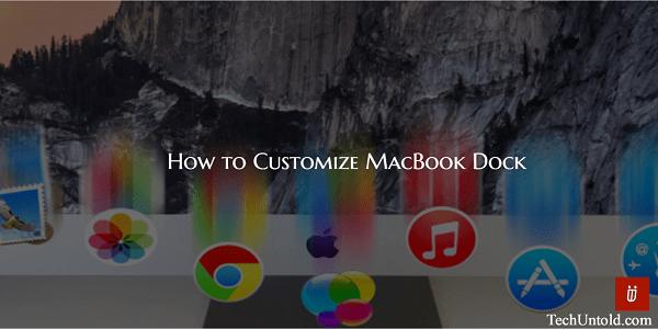 Customize Mac Dock