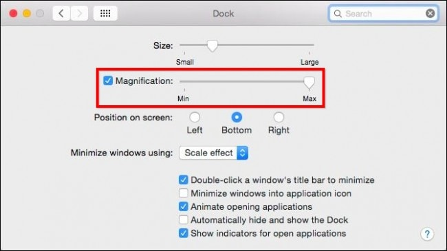 How to Select Size for Icons on Mac