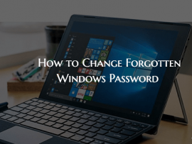 How to Change Windows Password Without Knowing The Current One