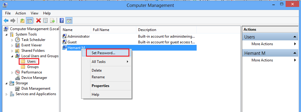 Reset Windows password without knowing current password