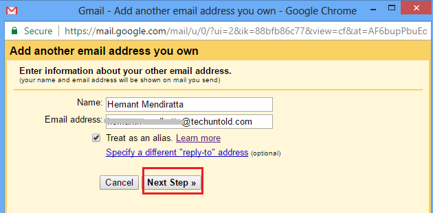Send Email From Custom Address With Gmail