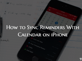 How to Sync Reminders With Calendar on iPhone/iPad