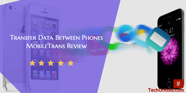 Transfer Data Between Phone and Phone