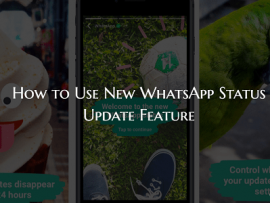 How to Set WhatsApp Status in Snapchat Stories like Style