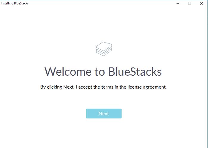 bluestacks for kik - accept license