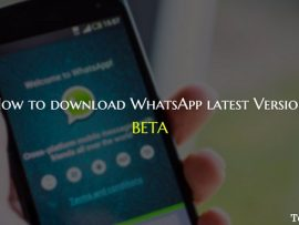 How to download WhatsApp latest version (Beta) in Android