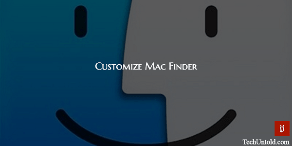 Customize Mac finder