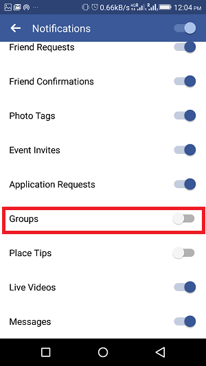 How to stop Facebook group notifications - groups