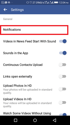 How To Turn On/Off Facebook Notifications: Birthday, Friends Posts