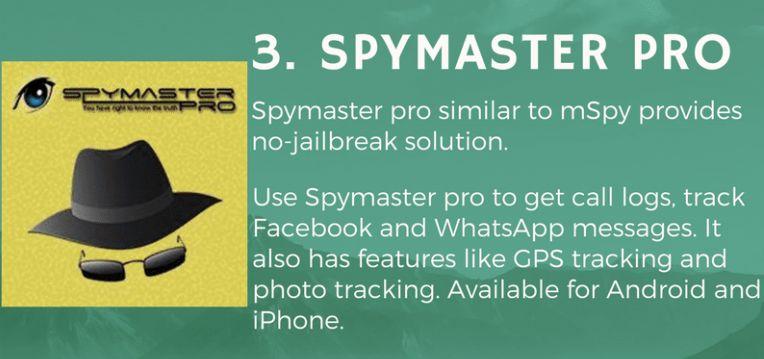 SpyMaster Pro spying app