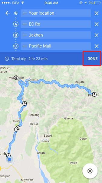 add multiple locations in google maps