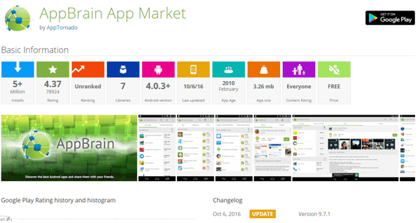 alternative android market - appbrain