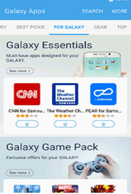 android app store - samsung