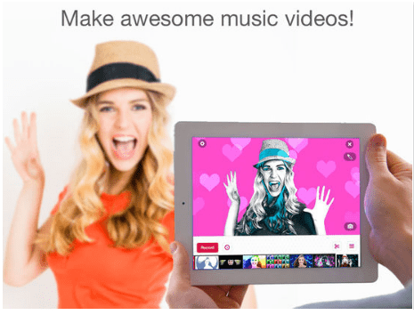 best apps to add background music to video clip - videostar
