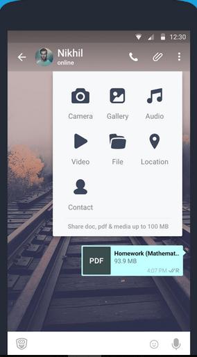 best whatsapp alternative - hike