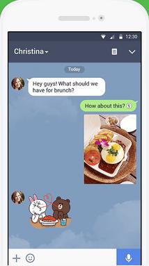 best whatsapp alternatives - line