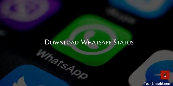 downloads whatsapp status