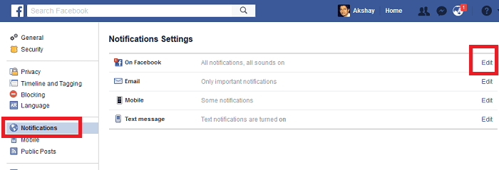 how to stop group notifications on Facebook -notifications