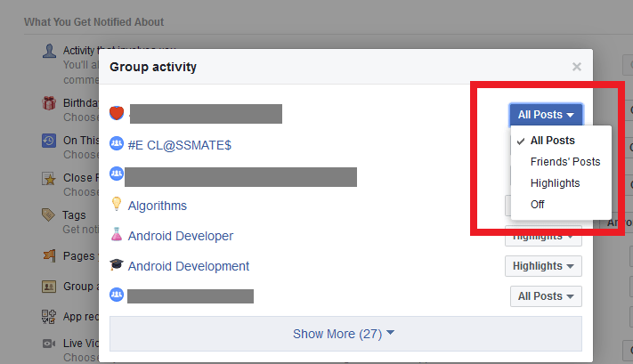 how to stop group notifications on Facebook - turn off