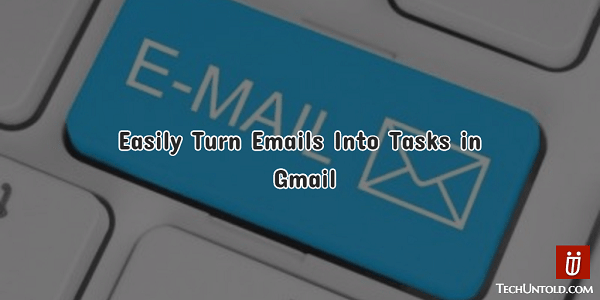Convert Emails into to-do tasks list