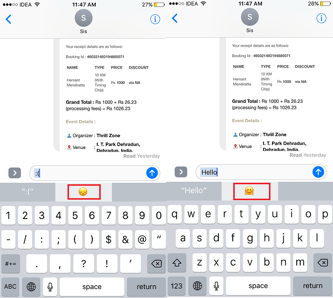 Use Emoji Shortcuts on iPhone or iPad