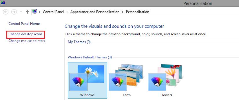 Hide Recycle Bin Icon in Windows 7, 8