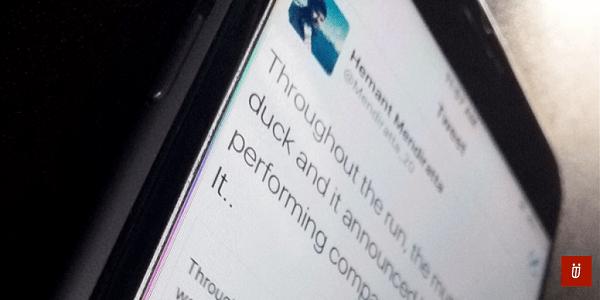 Tweet longer than 140 characters