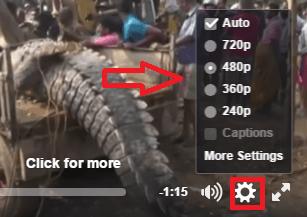change video settings