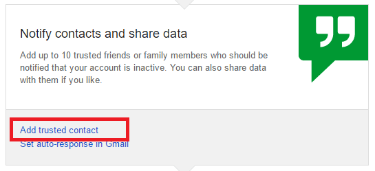 how to notify others when you die about your google accounts -notification