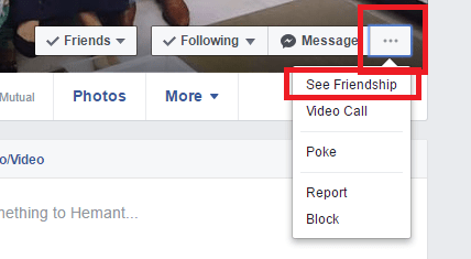 how to see when people became friends with on facebook - friendship