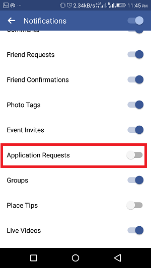 how to stop facebook game invites - app requests