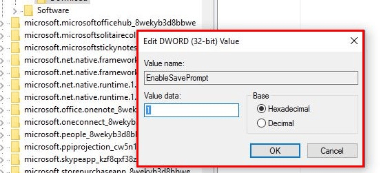 Disable Flash in Edge browser Using Registry Window