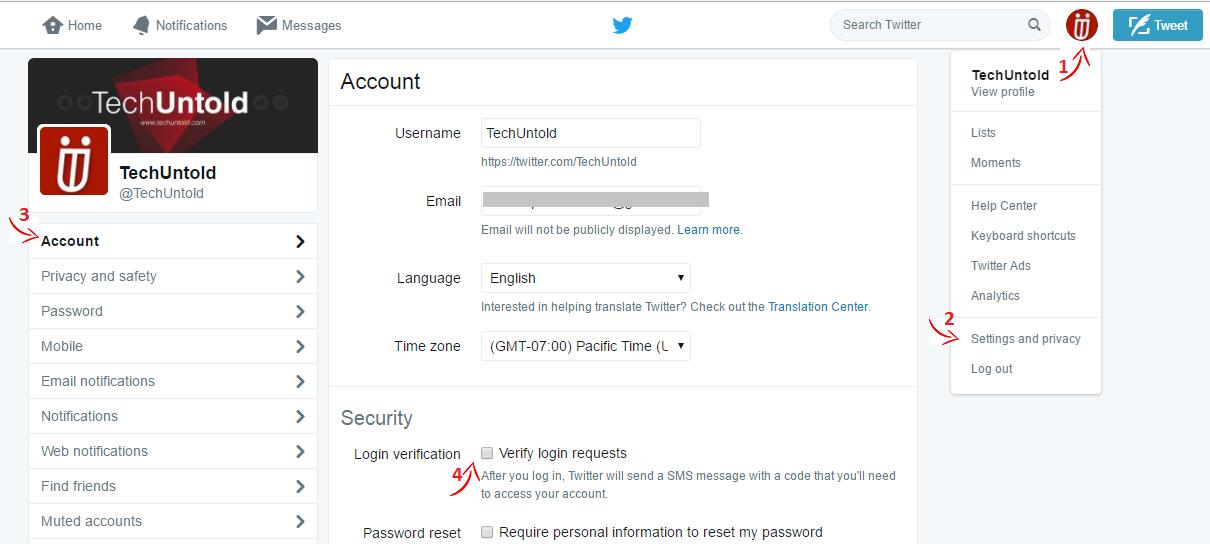 Twitter Login Verification on Website