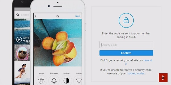 how to enable instagram two step verification