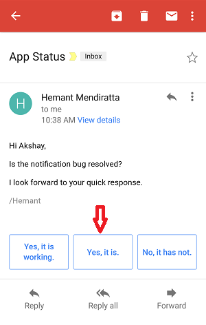how to turn on or off smart reply on gmail for android and iphone - replies