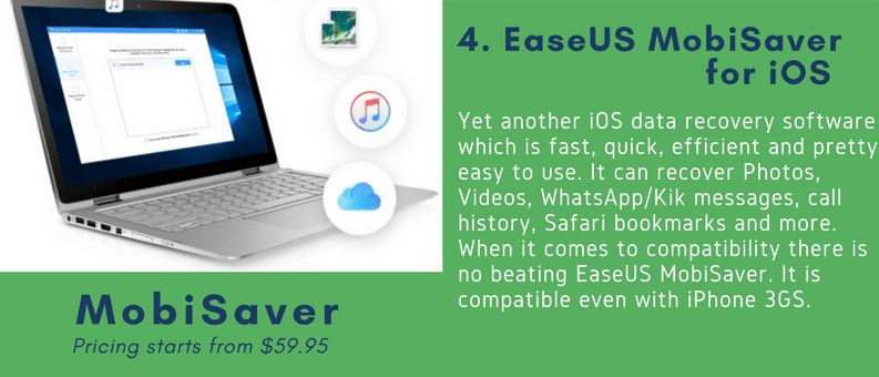 mobiSaver data recovery