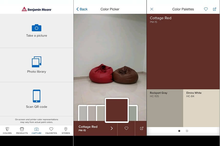 Color Capture - color matching app android