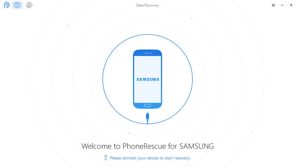 Connect Device PhoneRescue Android