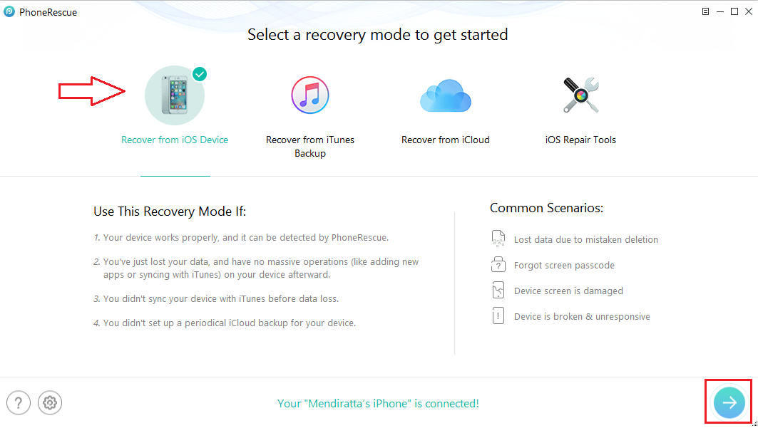 PhoneRescue iOS Review