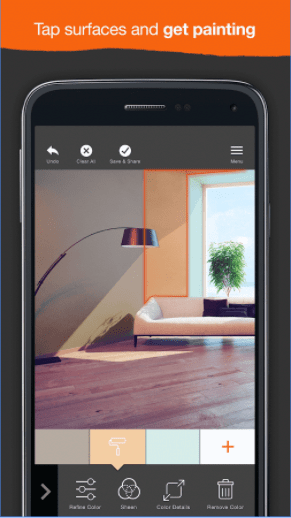 Project Color Android and iOS app to match colors