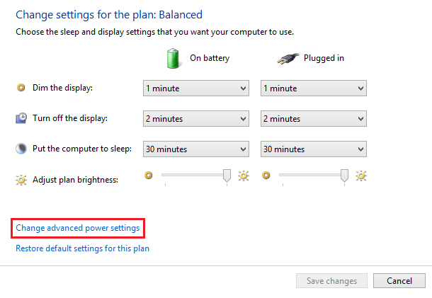 Set Level for Low Battery Notification Windows 8 10