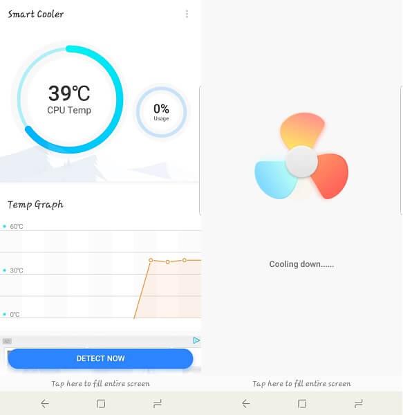 Smart cooler app