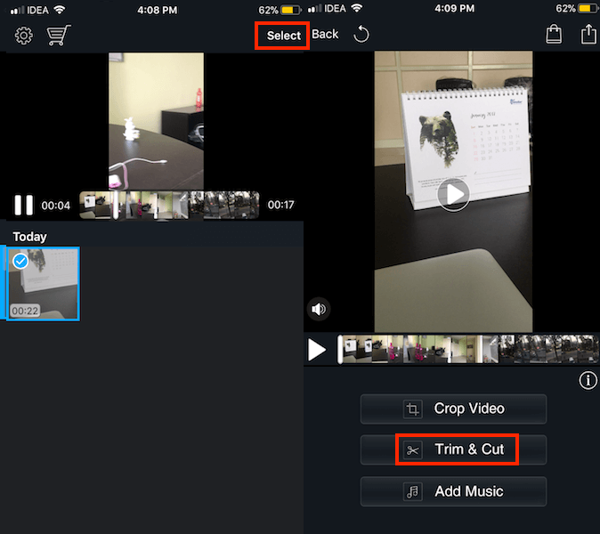 Upload Long videos on Instagram Stories from iOS