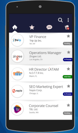 apps to look for job -jovo