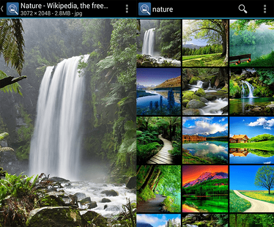 apps to search images - picfinder